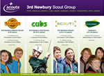 3rd Newbury Scout Group website