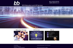 B2B Relocation and HR Services website