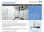 Coldrooms 4U website