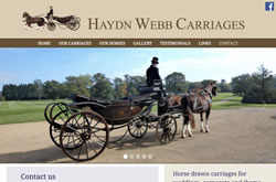 Haydn Webb Carriages website