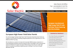 Solar Electric UK website